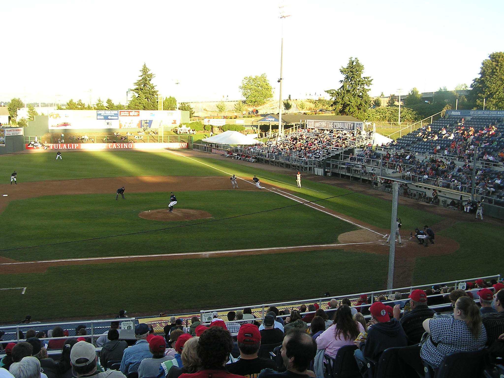 A view from the 3rd base side - Everett Washington